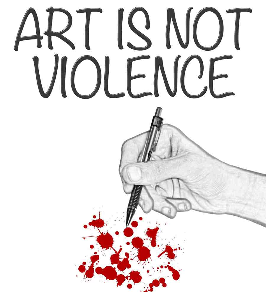 art-is-not-violence